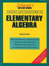 Theory and Problems of Elementary Algebra (Schaum