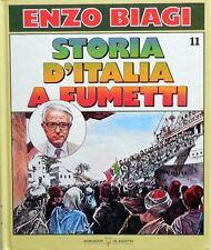 ENZO BIAGI STORIA D'ITALIA A FUMETTI N.11  DEAGOSTINI 1988