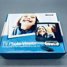 Microsoft Tv Photo Viewer device remote 2001 new in package see photos