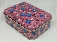 Soviet Vintage Empty Candy Tin Box FLOVERS 1950-1960s USSR