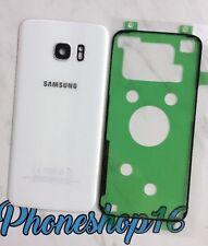 Original Samsung Galaxy S7 EDGE G935F Akkudeckel Deckel Backcover Weiß + Kleber