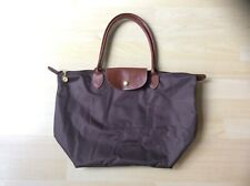Snow Paw Brown Canvas Handbag with Matching Coin Purse