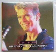 "David Bowie ""The Potential Of a Superman"" 2CD Paris 1997"