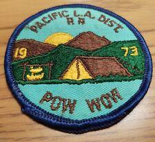 Royal Rangers 1973 Pacific LA District Pow Wow Patch