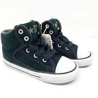 Converse Chuck Taylor All Star Toddler Size 9 Black High Street Sneakers Shoes