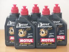15,80€/l Motul Gear Competition SAE 75W-140  5 x 1 L