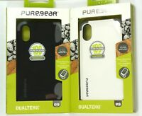 for iPhone X/Xs, PureGear DualTek Extreme Shock Tough Impact Case, Great Grip