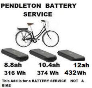 PENDLETON   Somerby electric bike BATTERY SERVICE UP GRADE