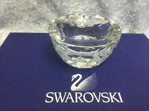 Swarovski Crystal Ashtray 7461100000 010061. Retired 1990.
