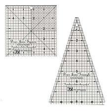 DEAR JANE TOOLS, Simplicity EZ Quilting,Brenda Papadakis, 2 Quilt Rulers