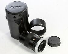 Canon 135  3.5 FD mount S.C. lens (manual focus)