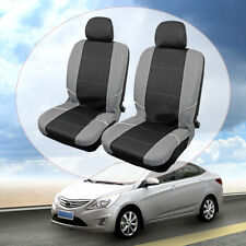2x Universal Front Car Seat Cover Headrest Head Rest Cushion Washable Protector