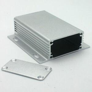 Silver PCB Enclosure DIY Electronic Case 80*71*25mm Aluminum Instrument Box