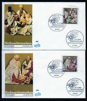 Alemania / Germany /  2 Sobres Primer Día -  FDC año 1992