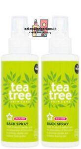 Superdrug TEA TREE Back Spray 150ML - 2 PACK