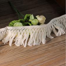 2 Yards Vintage Tassel Lace Wedding Bridal clothing accesories Trim craft