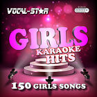 VOCAL-STAR GIRLS KARAOKE CDG CD G DISC SET 150 SONGS FOR KARAOKE MACHINE