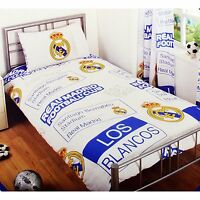 Real Madrid Single Duvet Set Patch