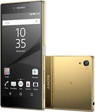 "Sony Xperia Z5 E6683 GOLD DUAL SIM 23MP 3GB 32GB Factory Unlocked 5.2"""