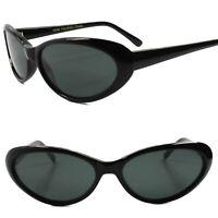 Cat Eye Sunglasses Retro Classic Genuine Vintage Design Women's Fashion Shades
