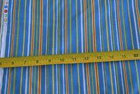By 1/2 Yd, Striped Quilting Cotton, Benartex/Halvorsen/Baby Safari/4217-55 M8762