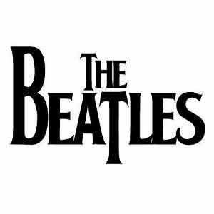 THE BEATLES STICKER ORACAL VINYL DECAL USA MADE CAR  WINDOW WALL MUSICAL GROUP