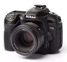 easyCover Nikon D7500  EA-ECND7500B Protective Skin Camera Cover Black Silicone