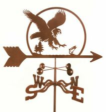 American Eagle Weathervane - Vane - Bird - Bald - Complete w/ Choice of Mount