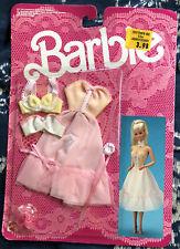 New 1986 BARBIE Lingerie & Strapless Dress Clothing Set by Mattel 3184 NRFP