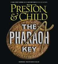 Preston Child THE PHARAOH KEY Unabridged MP3-CD *NEW* FAST 1st Class Ship!