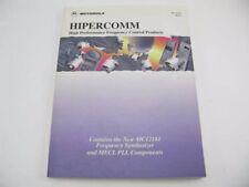 Motorola Hipercomm BR1334/D Rev 4 MC12181  MECL PLL Components Guide Data Sheet