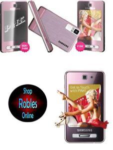 Samsung SGH-F480i Pink (Ohne Simlock) Smartphone Touch 4Ban 3G 5MP LED Flash NEU