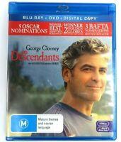 The Descendants Blu-ray Movie 2012 2-Disc Set George Clooney VGC FREE Postage