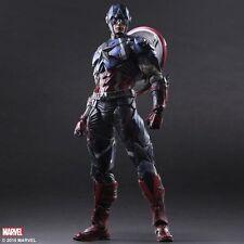 Marvel Universe Variant Play Arts Kai Captain America Authentic Square Enix New