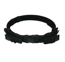 "NEW Black Tactical Utility Belt 2"" Wide Belt with Two Magazine MAG Pouches"
