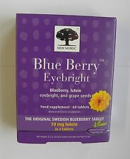 New Nordic - Blueberry & Eyebright - 60 Tablets