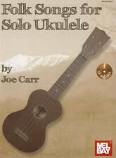 Folk Songs for Solo Ukulele by Rob MacKillop (Mixed media product, 2012)