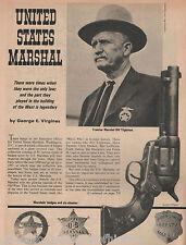 Marshal Bill Tilghman - History, Badges +Canton,Dalton,Drake,Earp,Parker,Thomas