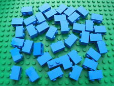 Lego 2x1 QTY40 Blue Pieces City Town Castle Pirates