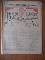 PICCOLA ILLUSTRAZIONE del POPOLO 7/1932 Marcello Achard JEAN DE LA LUNE