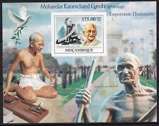 (A10)-Mozambique 2009 - Gandhi/Famous People - stamps -imperf.  MNH**