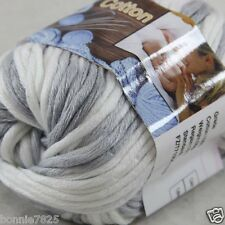 Sale New 1 Skein x 50g Soft 100% Cotton Chunky Super Bulky Hand Knitting Yarn 44