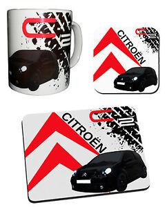 Citroen C2 Collection - Mug, Coaster & Mouse Mat