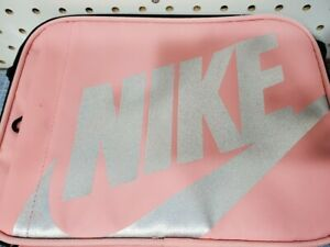 NIKE Lunch Box Insulated Hard Interior Durable Pink NEW