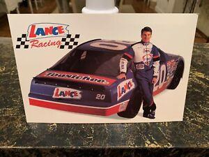 "LOT OF 25 1995 BOBBY HILLIN JR ""LANCE RACING"" #20 NASCAR BUSCH SERIES POSTCARD"