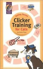 NEW - Getting Started: Clicker Training for Cats (Karen Pryor Clicker Books)