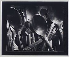 Michael Kenna: Tea Spoons - 1995, Signed Silver Gelatin Print with Book