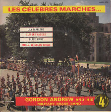 "7"" FRENCH EP 45 TOURS GORDON ANDREW MILITARY BRASS BAND ""Lily Marlene +3"" 60'S"