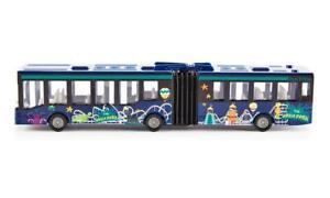 NEW Siku Hinged Bendy Articulated Aqua Park Park & Ride Bus Die Cast Toy 1617