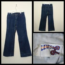 Levi's 519 Vintage 1970's Jeans Women's Measured 30X32 Blue, Flared Inv#F4605